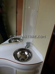 Lavabi Bagno In Vetroresina.Modifiche Interne Zona Bagno E Personalizzazioni Camper Mapastore Com