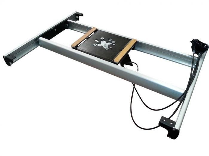 supporto tavolo telescopico manuale 39 de lux 39 traslatore On tavolo telescopico
